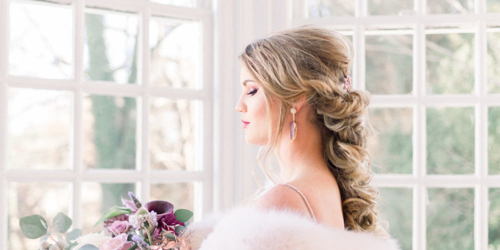 Sugarplum Dreams Styled Shoot at Grey Rock Mansion in Maryland