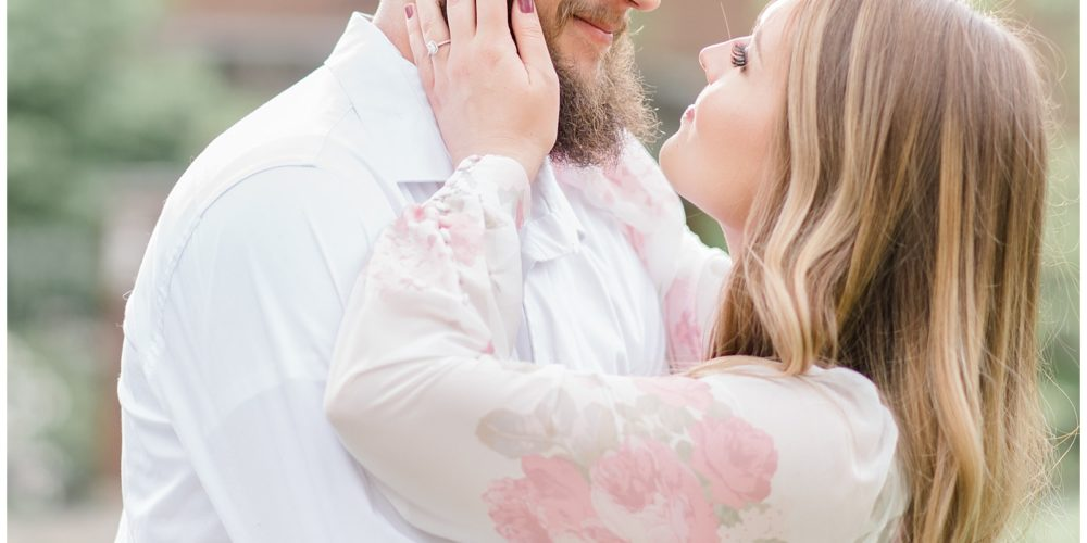 Stephen & Alissa's Gorgeous Penn State Engagement Session