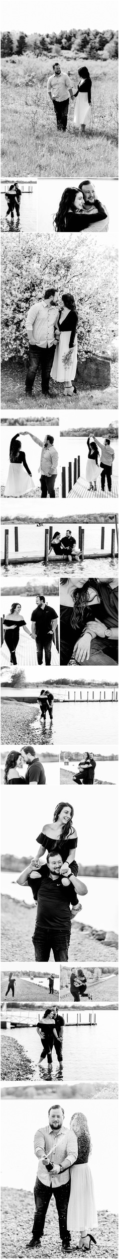 Engagement Session at Montour Preserve