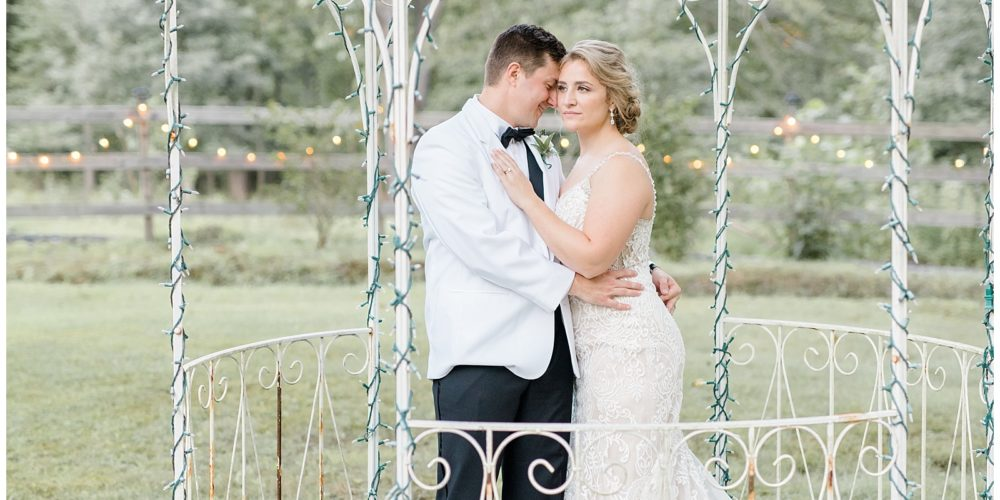 Ryan & Rebecca's Blush and Purple Whimsical Wedding at the Peter Allen House